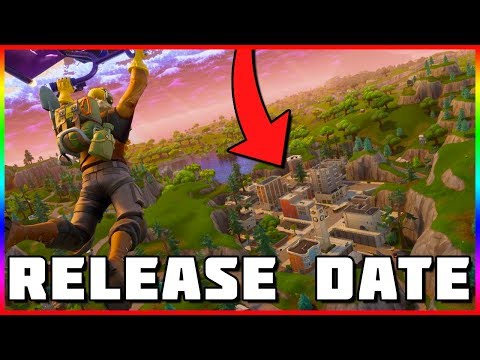 NEW MAP UPDATE RELEASE DATE | Fortnite Battle Royale (Version 2.2.0)