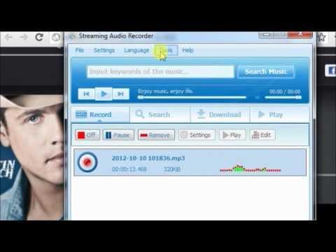 How to record online radio music[AOL,Spotify,Jango]