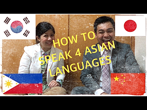 How to Speak 4 Asian Languages for Dummies
