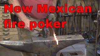 New Mexican inspired fire poker