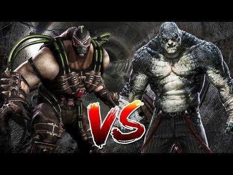 Bane VS Killer Croc | Who Wins?