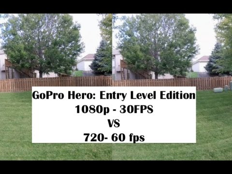what is the difference between 1080p 30fps and 60 fps vs 120fps