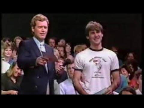 05 07 1986 Letterman Cybill Shepherd Chris Elliott Dumb Ads