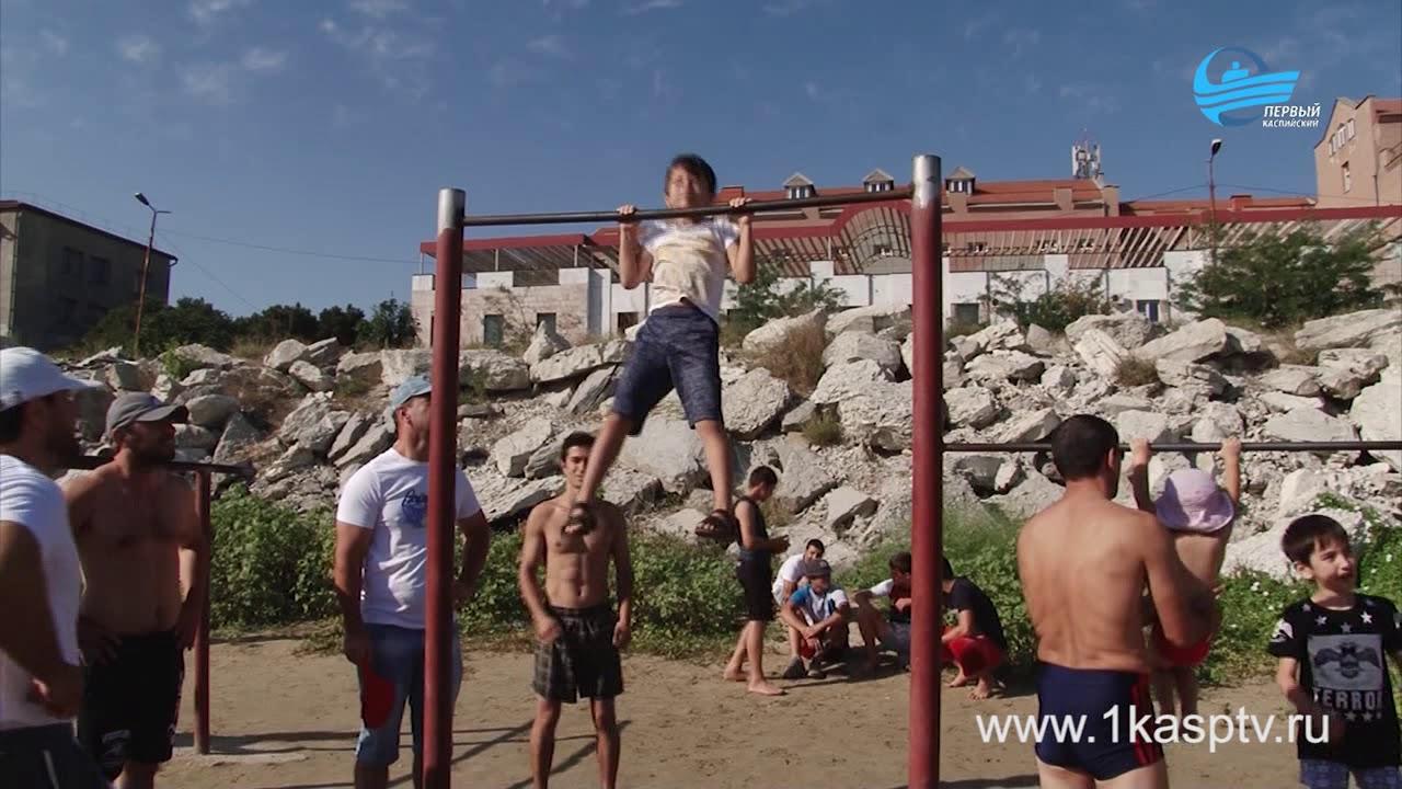 В Каспийске отметили День физкультурника
