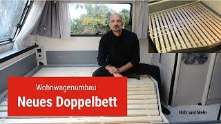 Ein Doppelbett für den Wohnwagen selber bauen
