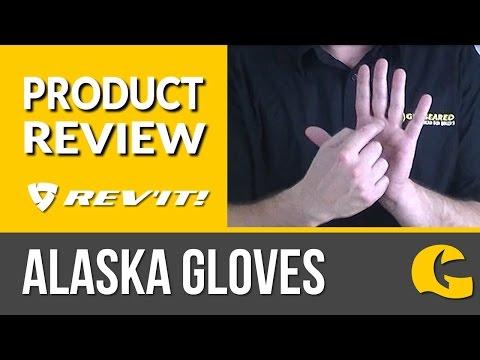 Rev It! Alaska Gore-Tex Winter Gloves: 2 minute review #GearGuru