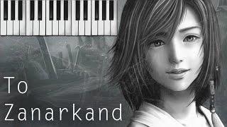 To Zanarkand (Final Fantasy X) Piano Cover