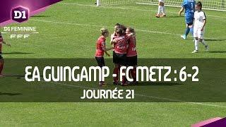 J21 : EA Guingamp - FC Metz (6-2), le résumé
