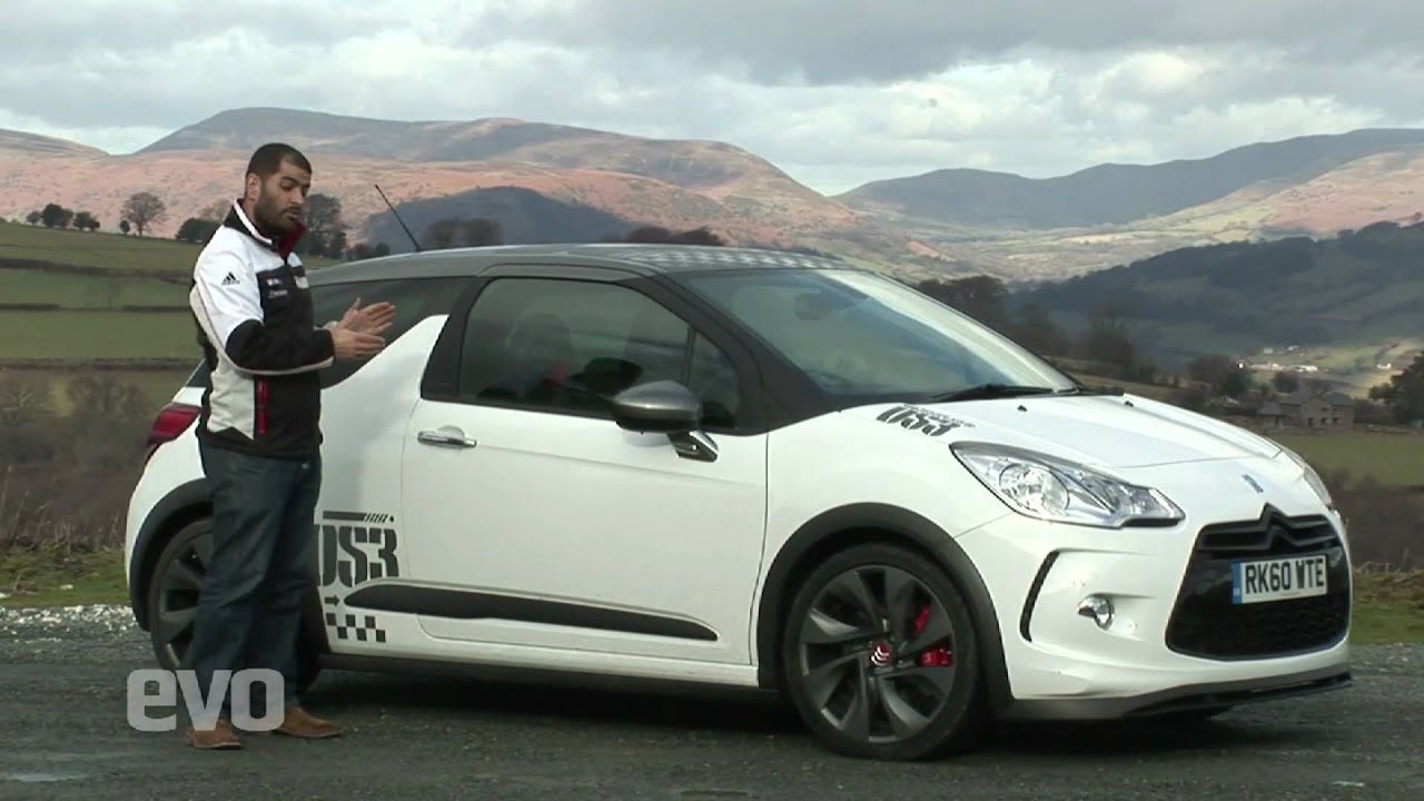 citroen ds3 racing v hot hatchback rivals evo magazine youtube. Black Bedroom Furniture Sets. Home Design Ideas