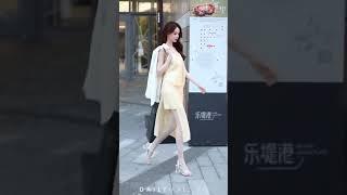Style Đường Phố - Ngắm Gái Xinh Trên Phố Đi Bộ Trung Quốc