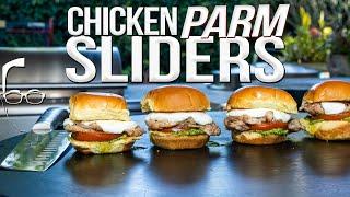 CHICKEN PARMESAN SLIDERS | SAM THE COOKING GUY 4K