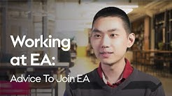 Working at EA | Advice To Join EA