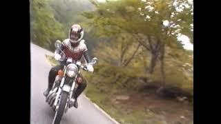 ホンダドリーム、400FOUR おぉ400お前は風だ。 のバイクで走る.