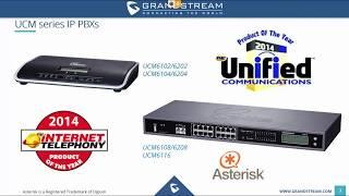 UCM series IP PBX Training Webinar - September 26