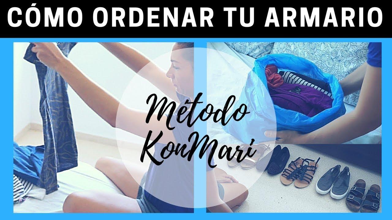 Armarios Homecenter Cali ~ Cómo organizar el ARMARIO Método KONMARI para ordenar