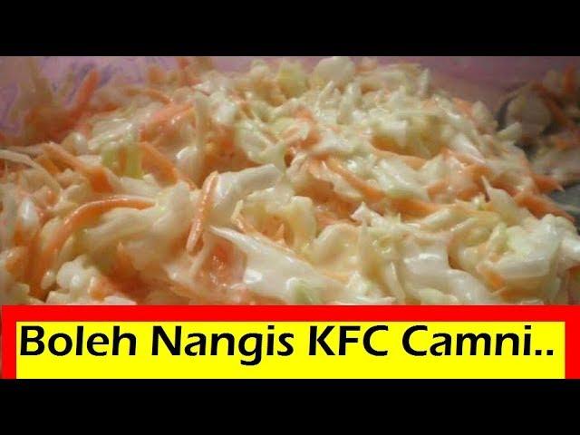 Kfc Coleslaw Resepi Kfc Secret Recipe Resepi Kfc Terbongkar Youtube