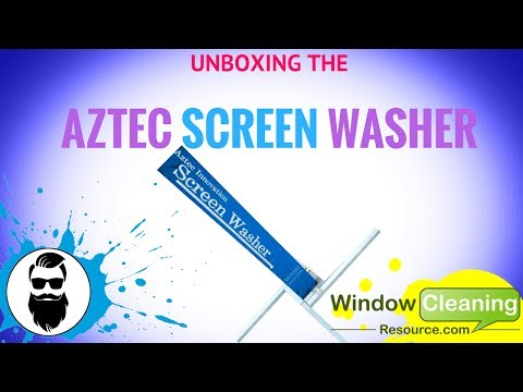 Unboxing The Aztec Screen Washer