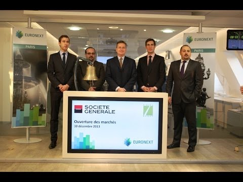 Société Générale celebrates the launch of the Certificate 100% CAC Low Risk