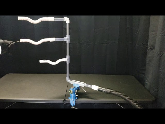 Smart Snake  passing through common riser configuration