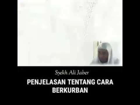 Berkurban Syekh Ali Jaber Youtube