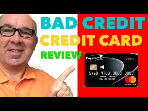 Credit Cards For Bad Credit UK - Capital One Classic Complete Card Review