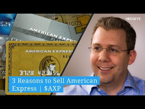 3 Reasons To Sell American Express | $AXP