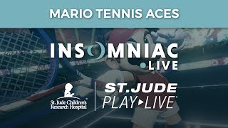 Insomniac Games PLAY LIVE - Mario Tennis Aces