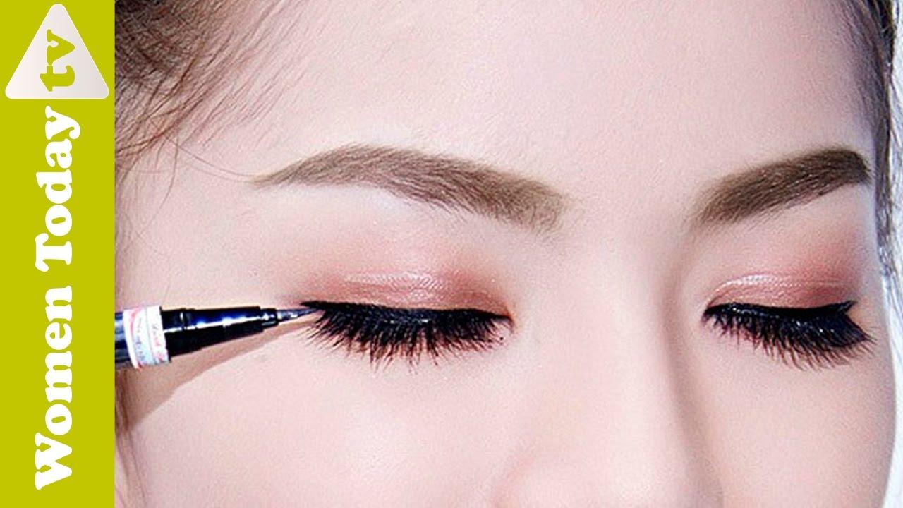 2 Cách Kẻ Mắt Nước Đơn Giản Cho Nàng Mới Học Trang Điểm | Easy Ways to Use eyeliner
