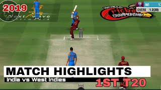 India vs West Indies 1st T20 2019 Highlights
