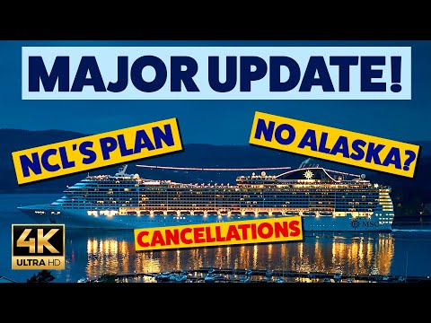 MAJOR CRUISE UPDATE: Norwegian Post Pandemic Plan, No Alaska in 2020, P&O Cruises and Much More...