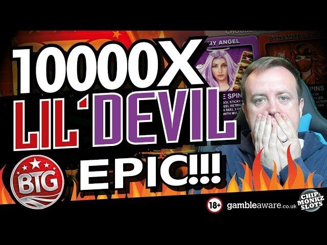 Online Slots - Big win LIL DEVIL IS BROKEN !!!