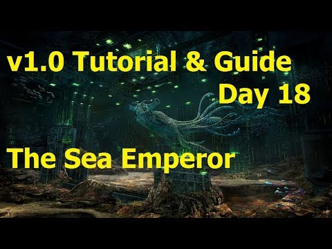 Subnautica V1.0 Tutorial Playthrough: Day 18 The Sea Emperor