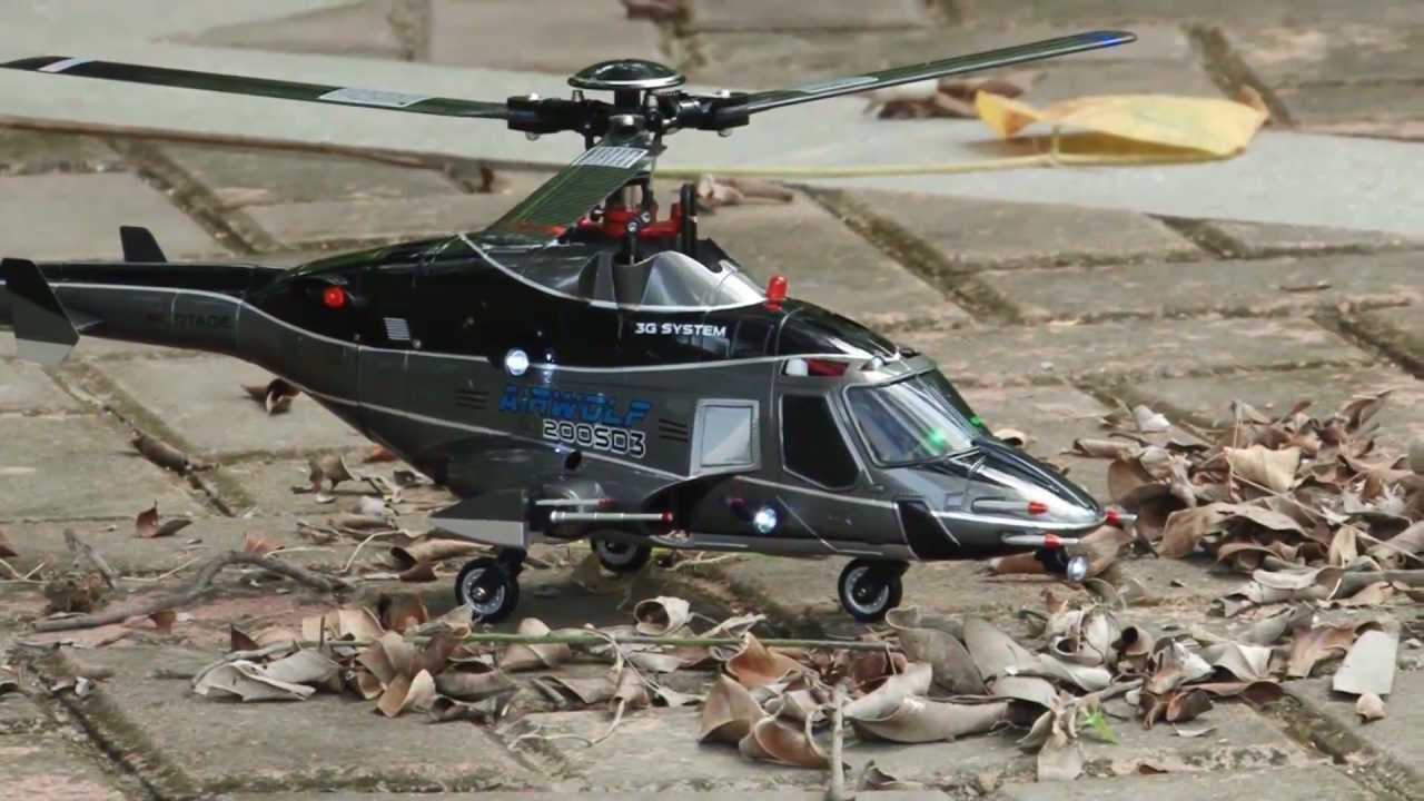 Walkera Airwolf 200SD3 RC Helicopter - YouTube