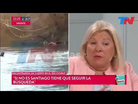 ¿Qué dijo Elisa Carrió tras la aparición del cuerpo en el río Chubut?