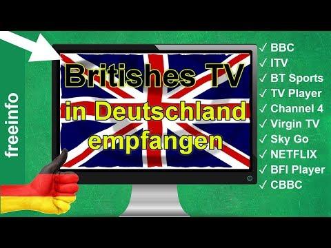 Britisches Fernsehen in Deutschland empfangen (So gehts 2019)