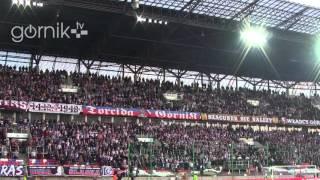 Górnik Zabrze 1:1 Pogoń Szczecin. Doping (01.04.2016)