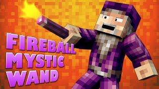 Minecraft Mods ★ FIREBALL MYSTIC WAND ★ Crazy Craft 2 [Ep.3]