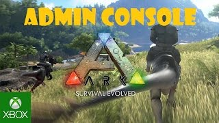 how to become an admin on ark xbox one