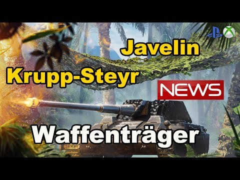 News !! Javelin Krupp-Steyr Waffenträger World of Tanks Xbox One/Ps4 thumbnail