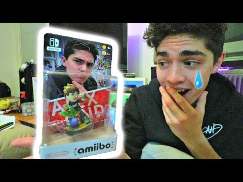 I Was Sent My VERY OWN Amiibo!! (*REACTION*) ~Mail Unboxing Time #9~