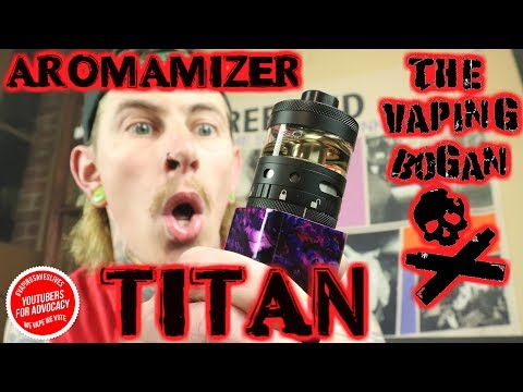 Aromamizer Titan 41mm 28ml RTA | Steam Crave | The Vaping Bo