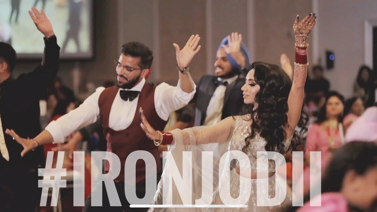 Jeet & Pinder | Ironjodii | Wedding Reception Bhangra Performance