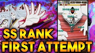 WTF IS THIS DIFFICULTY! KAGUYA SS RANK FIRST ATTEMPT!   Naruto Shippuden Ultimate Ninja Blazing