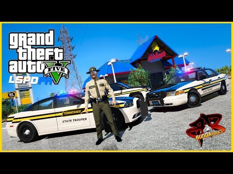 "🔴""Tennessee Flat Top""◆Tennesse State Troopers LSPDFR Patrol◆Real Life Police Mods GTA 5#BUDDANATION"
