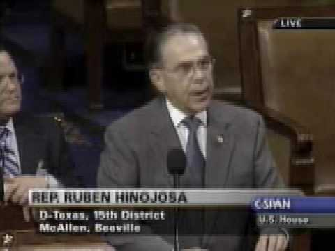 Rep. Ruben Hinojosa on Scholarship Database for STEM