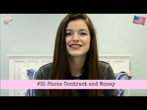 #35 Phone Contract and Money // EXCHANGE YEAR USA 2017/2018