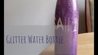 Epoxy Glitter Water Bottle