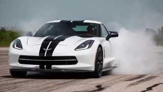 707 HP Supercharged C7 Corvette Test Drive with John Hennessey
