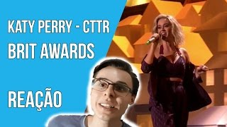 ⛔️ Katy Perry - Chained To The Rhythm - Live at The BRIT Awards 2017 - REAÇÃO [REACTION]