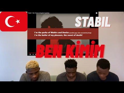 NIGERIANS REACTING TO Stabil – Ben Kimim | Türkçe rap reaksiyon | (Türkçe altyazı)